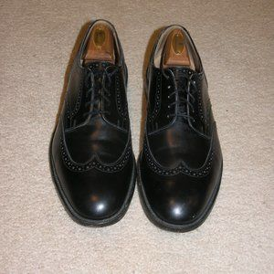 Tricker's Whitman Black Leather Wingtip Brouge 12D